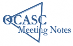 OCASC Meeting Notes logo